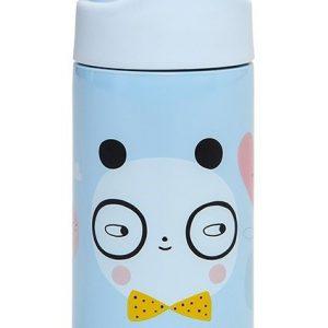 Petit Monkey: Drinkfles RVS Panda Love