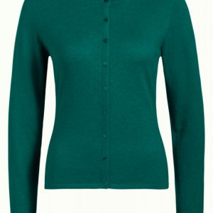 King Louie: Cardi Roundneck Cocoon Para Green