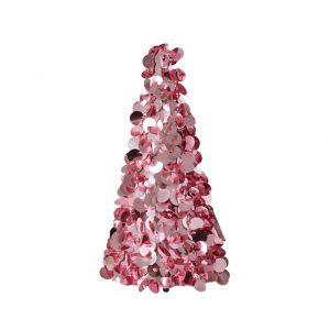 RICE: Grote kerstboom roze