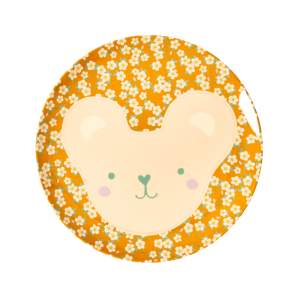 Rice: Kinderbord bruin TEDDY