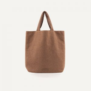 Monk & Anna: Baya shopper • wool • cacao
