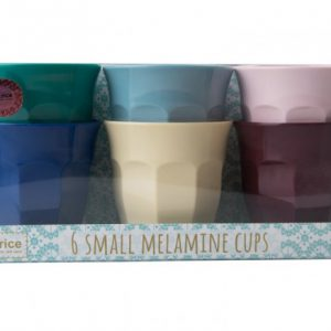 The popular small RICE melamine cup in our assorted giftbox-set in the beautiful mixed colors. These cups are some of our favorite products... Use them for whatever - for drinks, for pencils, picnics in the nature or for beautiful flowers. Be creative and use the cup for your every need - the sky is the limit...