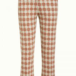 King Louie: Geruite broek Luz Cropped Pants Feliz Check