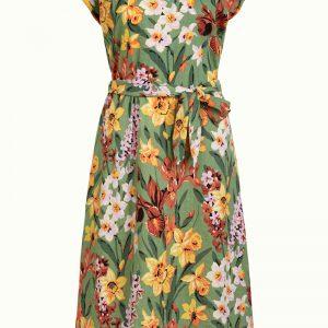 King Louie: Vera Loose Fit Dress Tula Jungle Green