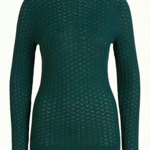 King Louie: Rollneck Top Solo Pine Green