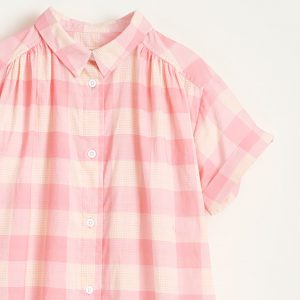 Bellerose: Blouse AVE roze ruit