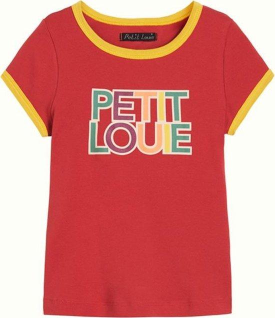 Petit Louie: Shirt met logo Super leuk shirtje. Beetje retro. Met logo. Hoe gaaf! 95% katoen | 5% elastan