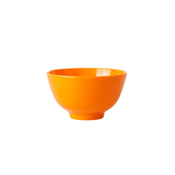 Rice kleine melamine kom oranje