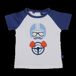 Someone: Shirt CARBA Shirt met korte mouwen en een stoere opdruk. Aan de achterkant handige knoopjes.