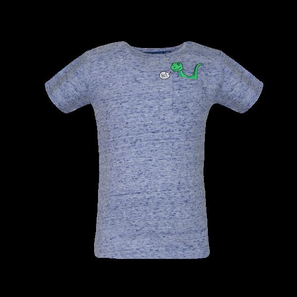 Someone: Shirt blauw DINOBA