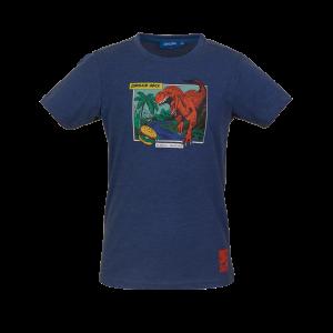 Someone: Shirt donker blauw DINOS