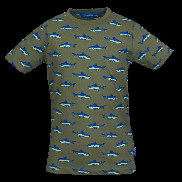 Someone: Shirt khaki JAWSY