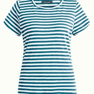 King Louie: Cath T-Shirt Stripe Royale Bay Blue