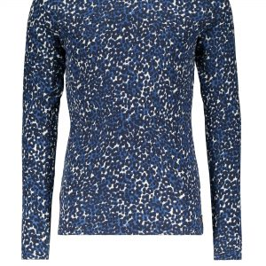 Street Called Madison: Shirt luipaard print blauw COMFI COOL