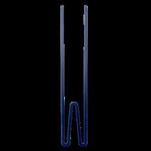 MESTI-HW20XCMB RICE: Melamine Chopsticks - Believe in Red Lipstick donker blauw