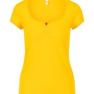 Blutsgeschwister: Logo shortsleeve feminin - healing yellow
