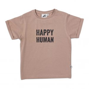 Cos i Said So: HAPPY HUMAN t-shirt macaroon