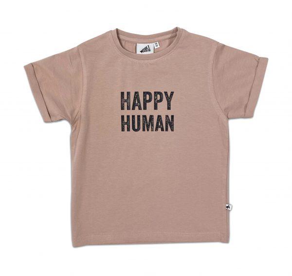 Cos i Said So: HAPPY HUMAN t-shirt macaroon