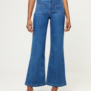 Surkana: Jeans met uitlopende pijpen