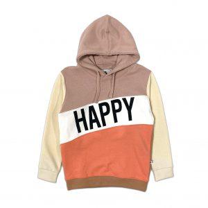 Cos i Said So: Color block hoodie HAPPY HUMAN