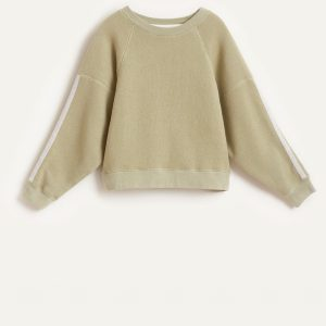 Bellerose: Sweater FADE groen