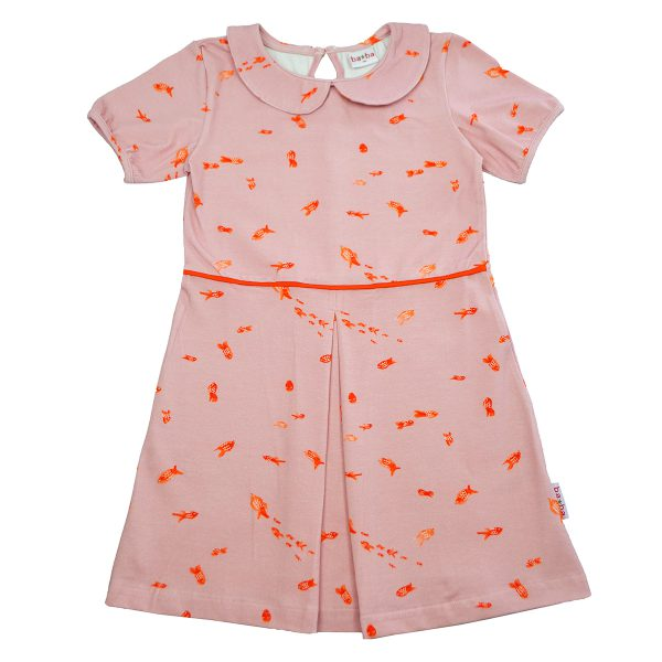 Ba*Ba Kidswear: Jurk FISH COLDRES_FISH