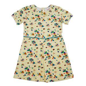 Ba*Ba Kidswear: Jurk FLOWER FIELD
