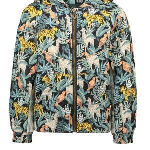 Like FLO: Trendy zomerjas in leaf print