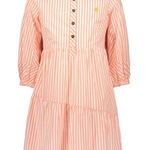 Like FLO: Neon roze gestreepte tuniek blouse