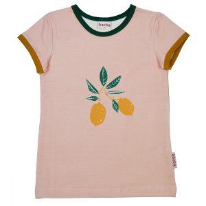 Ba*Ba Kidswear: Shirt FRUITGIRL perzik