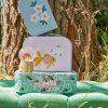 Rice: Kartonnen koffertjes set van 3 - Goldfish Print