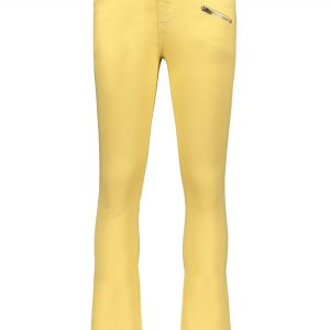 Street Called Madison: Luna denim flared pants MISS LUNA BELL yellow