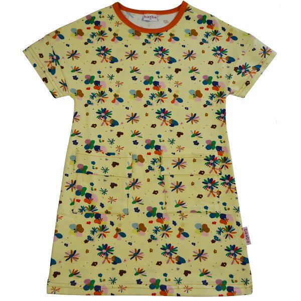 Ba*Ba Kidswear: Jurk FLOWER FIELD TDRES/FLOF/S21