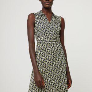 Surkana: Overslag jurk NAVY print
