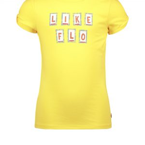 Like FLO: Citroen geel shirt Like FLO