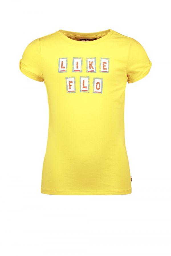 Like FLO: Citroen geel shirt Like FLO