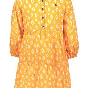 Like FLO: Sunflower oranje met witte animal print tuniek blouse