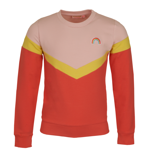 Someone: Sweater RACHEL regenboog