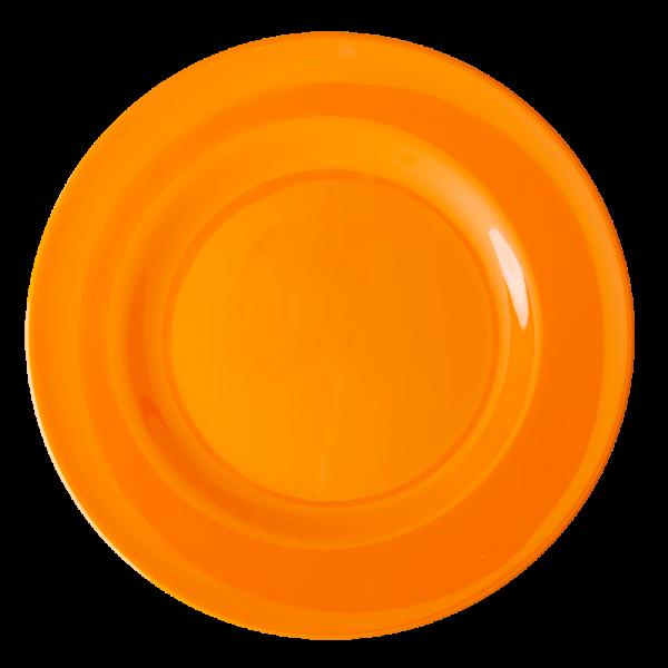 RICE: Rond diner bord - Oranje MELRP-TA