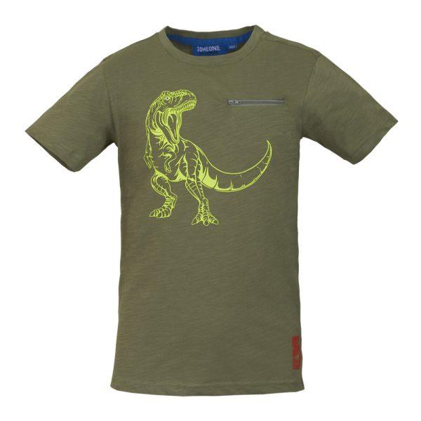Someone: Shirt khaki DINOS DINOS-SB-02-C/LIGHTKHAKI