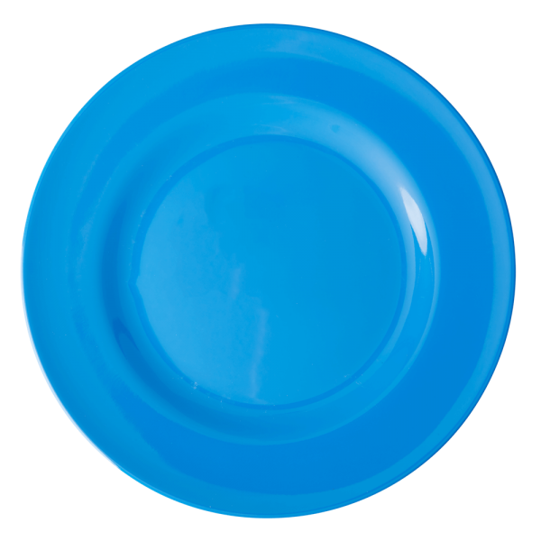 RICE: Rond diner bord - Ocean Blue