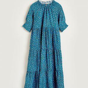 Bellerose: Maxi jurk PATTIE Super mooie maxi jurk van Bellerose in een prachtige print.