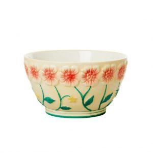 Prachtige keramische kom van RICE. Deze collectie kommen is handgemaakt met oog voor detail. Keramiek, Handgemaakt.