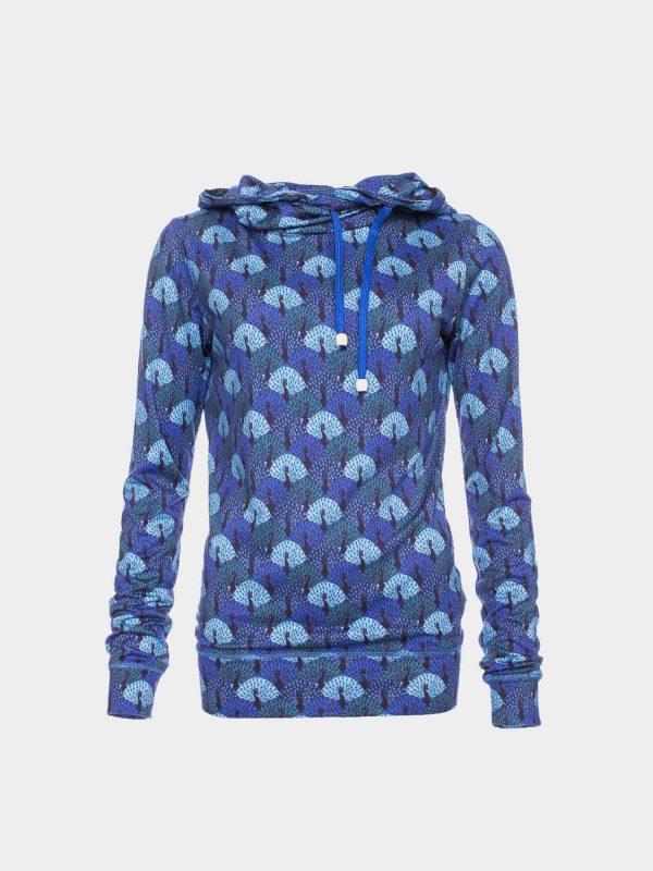 ATO Berlin: Sweater JONDRA pauwen blauw