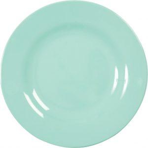 RICE: Rond diner bord - Mint MELRP-DMI