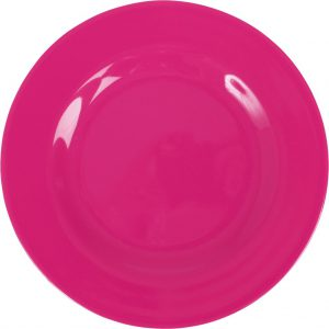 RICE: Rond diner bord - Fuchsia MELRP-F