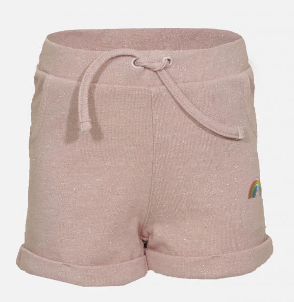 Someone: Korte broek BOW licht roze glitter