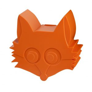 Blafre: Snackbox FOX oranje