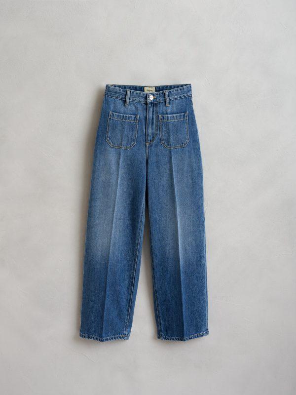 Bellerose: PEPY jeans used md blue