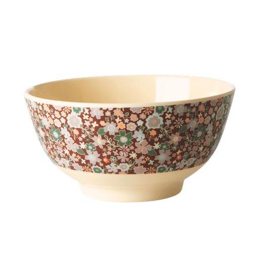 Rice: Medium melamine kom - Fall Floral Print MELBW-FAFL